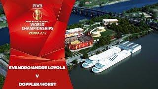 Evandro/Andre Loyola (BRA) v Doppler/Horst (AUT) - FIVB Beach Volley World Champs
