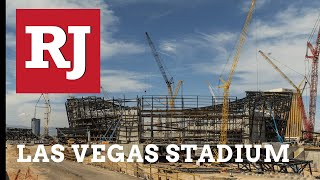 Raiders Stadium On Schedule For Completion