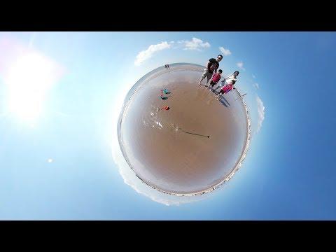 Blackpool U.K 360 Vlog #37 - Samsung VR Gear 360