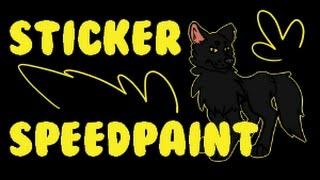 Sticker Request - Gerundive - Speedpaint