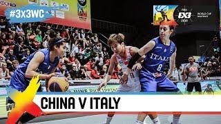 China v Italy | Women's Full Game | Semi-Final | FIBA 3x3 World Cup 2018
