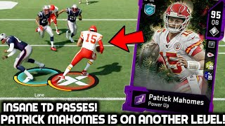 PATRICK MAHOMES IS ON ANOTHER LEVEL! INSANE TD PASSES! Madden 20 Ultimate Team