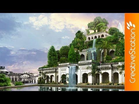 Hanging gardens of Babylon - Speed art ( #Photoshop CS6 ...
