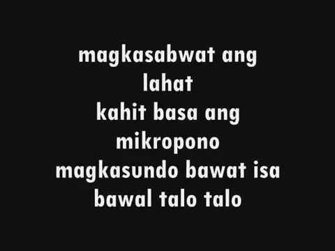 Sama Sama Lyrics   Francis M.  ft.  Rap Public of the Philippines