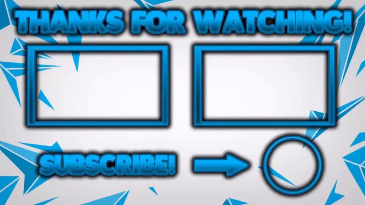 Best 2D AND 3D Outro Templates For Free Panzoid Templates Download Links YouTube