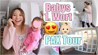 Lilis erstes Wort 😍 PAX Schrank Tour | Esszimmer Tisch kommt! Mama Alltag XXL VLOG | Mamiseelen