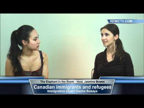 Canadian immigrants and refugees