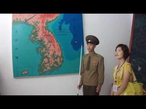 North Korea Panmunjom DMZ  Kuzey Kore Guney Kore siniri