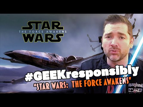 Top 5 tips for enjoying Star Wars: The Force Awakens + BLOOPERS