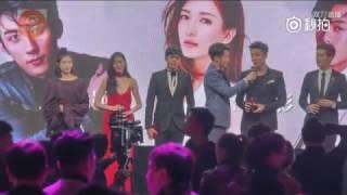 23rd Cosmo Award - Huang Jingyu, Zhang Tian Ai, Zhang Ruo Yun
