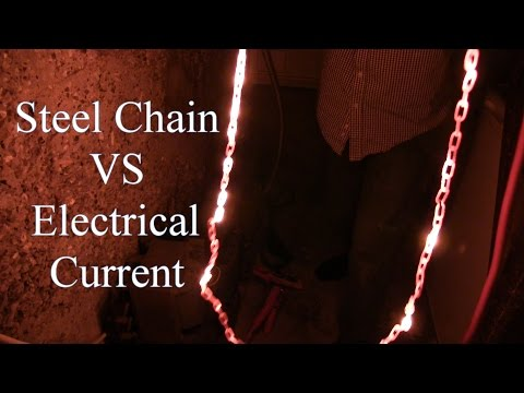 Steel Chain VS Electrical Current