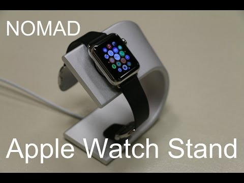 The Best Stand for Apple Watch? - Nomad Stand - Quick In-depth Review