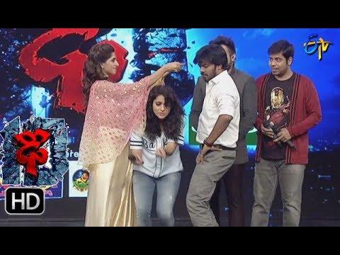 Varshni Funny Task | Dhee 10 | 23rd August 2017| ETV Telugu