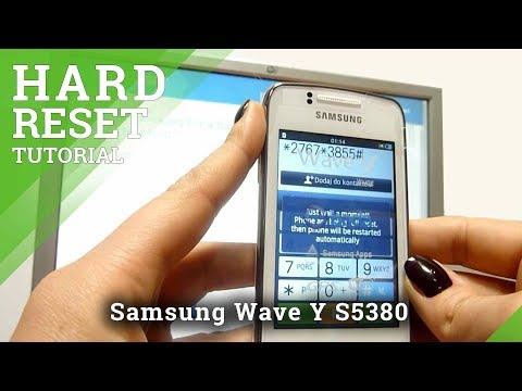 Hard Reset Samsunng Wave Y S5380
