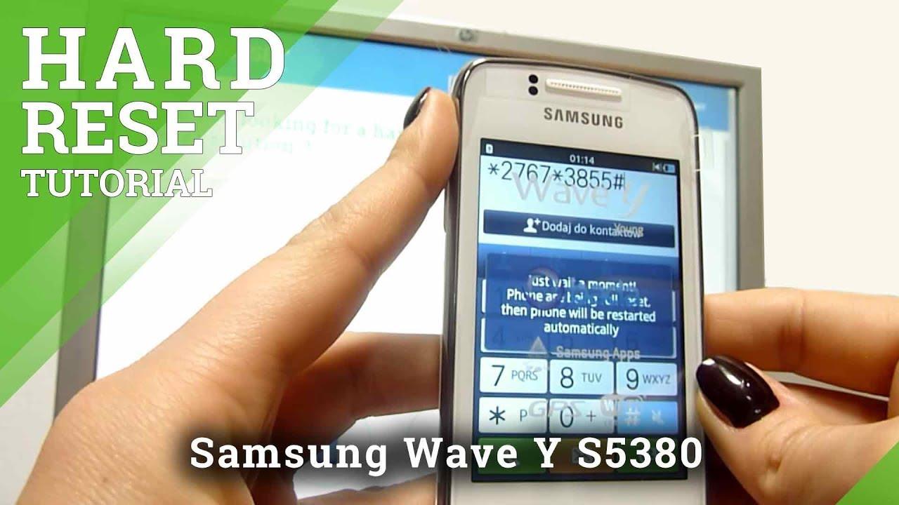 Прошивка Samsung Wave Y