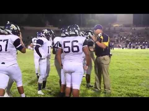 2015 Alhambra Moors Varsity Football vs Wilson Mules @ Wilson HS