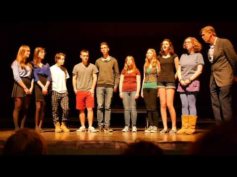 CMS High School Vocal Group - Settle Down - Kimbra