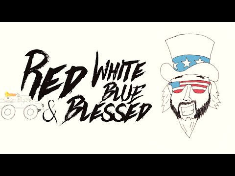 Смотреть клип Colt Ford Ft. Walker Montgomery - Red, White, Blue And Blessed
