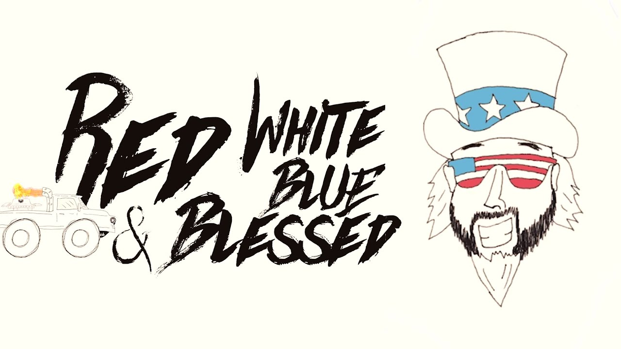 Colt Ford - Red, White, Blue and Blessed (feat. Walker Montgomery)[Official Video]