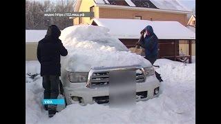 В Уфе задержаны предполагаемые угонщики дорогостоящих автомобилей