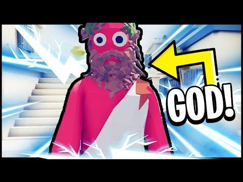 TABS: The GOD of All TABS GODS Zeus!