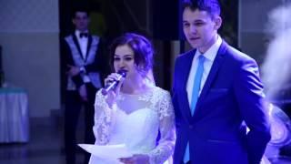 Невеста довела до слез. Самая трогательная благодарность родителям от невесты. Той матери чей сын...