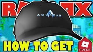 [PROMO CODE] HOW TO GET THE AQUACAP AQUAMAN HAT IN ROBLOX - Aquaman Event FREE ITEM