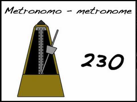 METRONOMO 230 - METRONOME 230