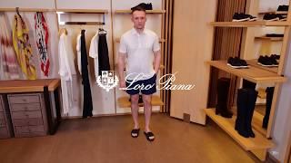 Новая коллекция Loro Piana Мужской летний образ Фирменный бутик в Лакшери Store Тренды 2020