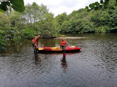 Canoeing The River And Loch Ness - Mega Kids
