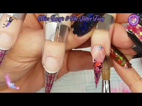 Acrylic Nails - Full set in Real Time - 2 of 5 - Application 1
