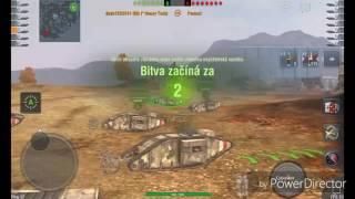 Wot Blitz [Gameplay] Mk.1 Heavy Tank // Mastery badge
