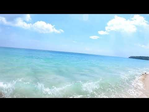 Swimming day at Surin beach in Phuket Thailand May 2021