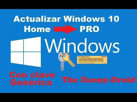 clave windows 10 pro 2018