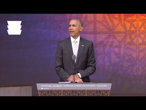 President Obama At The NMAAHC Grand Opening Dedication