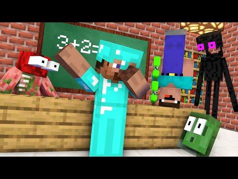 Monster School : NEW CLASSMATES NOOB vs PRO CHALLENGE NEW EPISODE – Minecraft Animation