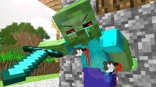 Minecraft ЗОМБИ АПОКАЛИПСИС ВЫЖИВАНИЯ #1 - Майнкрафт Карта на Выживания