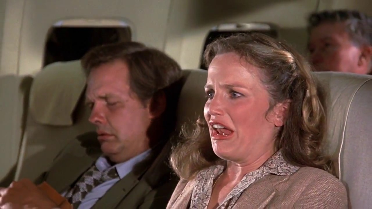 """Download Airplane! (1980) """"Calm down-- get a hold of yourself!"""""""