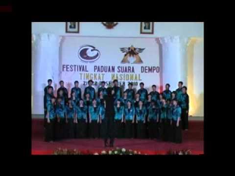 Warisan II Sinlui Choir_Mixed Youth Festival Dempo 2010