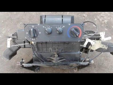 Печка газель,  почему не греет, ее ремонт ч.2