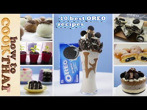 Top Ten Best OREO Recipes in 10 minutes | How To Cook That Ann Reardon