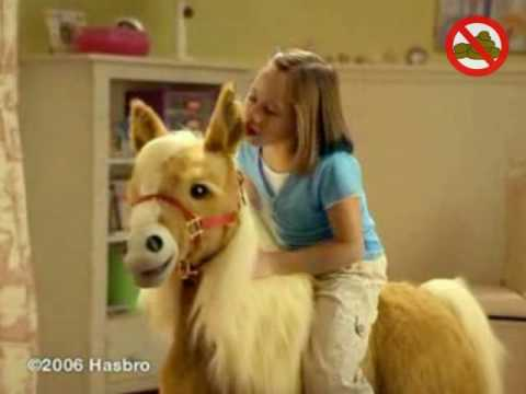 FurReal Friends Butterscotch Pony Commercial