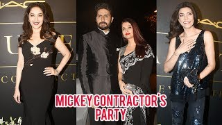 Aishwarya Rai, Sushmita Sen, Kajol Karan Johar At Mickey Contractor's MAC Party