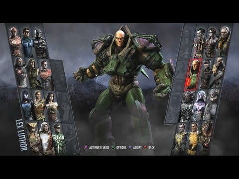 Injustice: Gods Among Us Arcade #10- Lex Luthor
