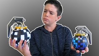 REAL vs FAKE FORTNITE TOYS REVIEW