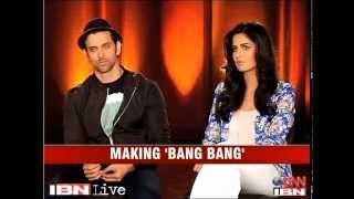 E Lounge Unwind Hrithik Roshan, Katrina Kaif talk about 'Bang Bang