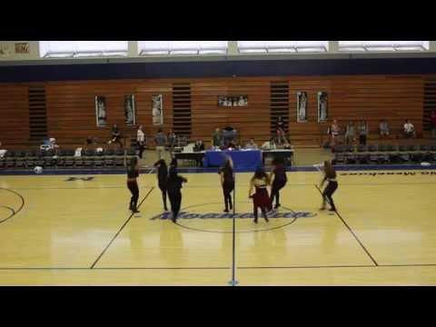 Hawaii Pacific University Dance Team 2014-2015: Halftime