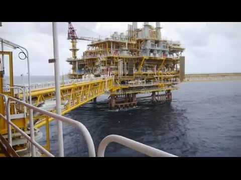view from offshore platform
