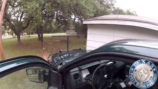 Dash Cam: Locked Up Bucks - Texas Parks and Wildlife [Official]