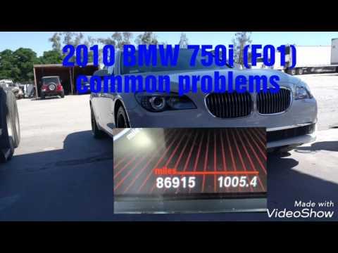 2009 - 2012 BMW 750i 750Li BMW F01 F02 common problems ( N63 engine )
